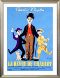 La Revue de Charlot Framed Giclee Print by Leo Kouper