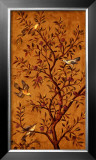 Plum Tree Panel II Print by Rodolfo Jimenez