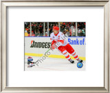 Nicklas Lidstrom 2008-09 NHL Winter Classic Framed Photographic Print