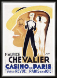 Chevalier Cas de Paris Framed Giclee Print by Charles Kiffer