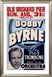 Bobby Byrne Trombone Orchestra Framed Giclee Print