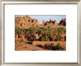 Oasis Bardai, Tchad Prints by Gilles Santantonio