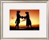 Sunset Lovers Prints by Randy Jay Braun