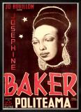 Josephine Baker Framed Giclee Print by  Soler