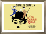 The Charlie Chaplin Revue Framed Giclee Print