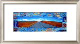 The Open Road Framed Giclee Print by Dave Newman