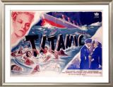 Titanic Framed Giclee Print