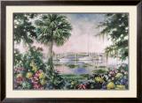 Harbor Sunset Prints by Carol Ann Curran