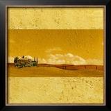Rustic Retreat I Art by Linda Wood