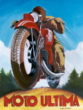 Moto Ultima Affiches par Chris Flanagan