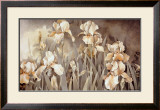 Field of Irises Art by Linda Thompson