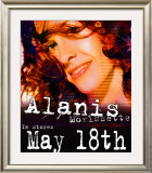 Alanis Morissette - So-Called Chaos Release Posters