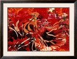 Pearls before Swine, Flowers before Flames Print by James Rosenquist