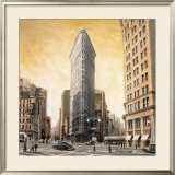 The Flatiron Building Prints by Mathew Daniels