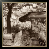 Cafe, Aix-en-Provence Prints by Alan Blaustein