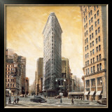 The Flatiron Building Poster by Mathew Daniels