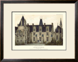 French Chateaux VIII Prints by Victor Petit