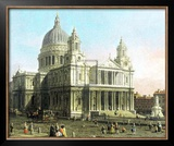 St. Paul&#39;s Cathedral Print by Canaletto 