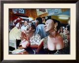 Salsa in Cuba Cafe Print by Alain Bertrand