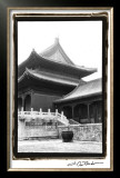 Palace Rooftops, Beijing Limited Edition Framed Print by Laura Denardo