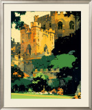 Durham Framed Giclee Print by Fred Taylor