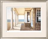 Hampton Porch Limited Edition Framed Print by Daniel Pollera