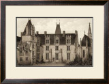 Sepia Chateaux I Posters by Victor Petit
