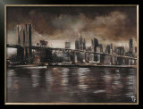 New York, Brooklyn Bridge Prints by Yuliya Volynets