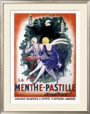 La Menthe-Pastille Framed Giclee Print by Leonetto Cappiello