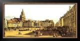 Dresden Altmarkt Prints by Bernardo Belotto
