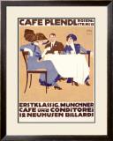 Café Plendl Framed Giclee Print