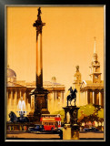 London, Trafalgar Square, 1948-1965 Framed Giclee Print by Claude Buckle