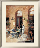Cafe Society II Prints by Michele Stapley
