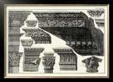 Cornice Palatinis Farnesiani Art by Giovanni Battista Piranesi