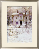 Victorian Winter, 1987 Posters by Richard Schmid