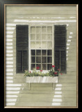 Nantucket Window Box Print by Douglas Brega
