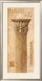 Sepia Column Study I Prints by Javier Fuentes