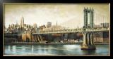 Manhattan Bridge View Prints by Matthew Daniels