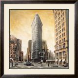 The Flatiron Building Art by Matthew Daniels
