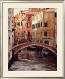 Venetian Evening Light Print by Craig Nelson