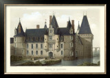 French Chateaux II Poster by Victor Petit