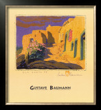Old Santa Fe Posters by Gustave Baumann