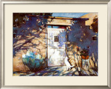 Santa Fe Shadows Posters by Gary Blackwell