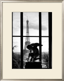Eiffel Tower, c.1966 Prints by Willy Ronis