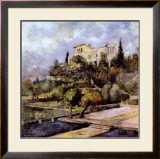 Tuscan Summer Print by Dennis Carney