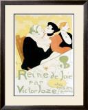 Reine de Joie Framed Giclee Print by Henri de Toulouse-Lautrec