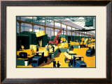 Capacity/Mobility on the LNER, 1933 Framed Giclee Print by Henry George Gawthorn