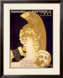 Munich Music Festival, c.1937 Framed Giclee Print by Ludwig Hohlwein