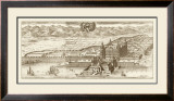 Sepia Arxskogkloster Prints by Eric Dahlberg