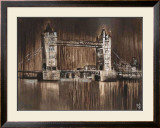 London Tower Bridge Poster by Yuliya Volynets